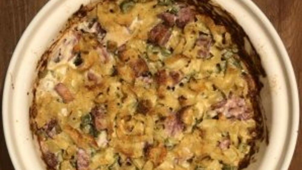 Image of Creamy Ham & Noodle Casserole