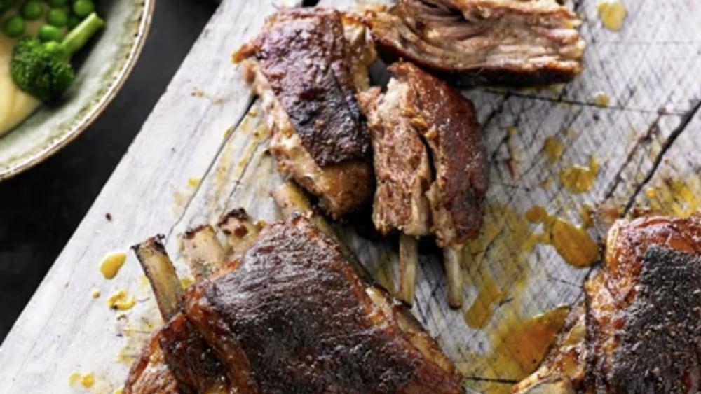 Image of BBQ CAJUN LAMB BREAST RIBS