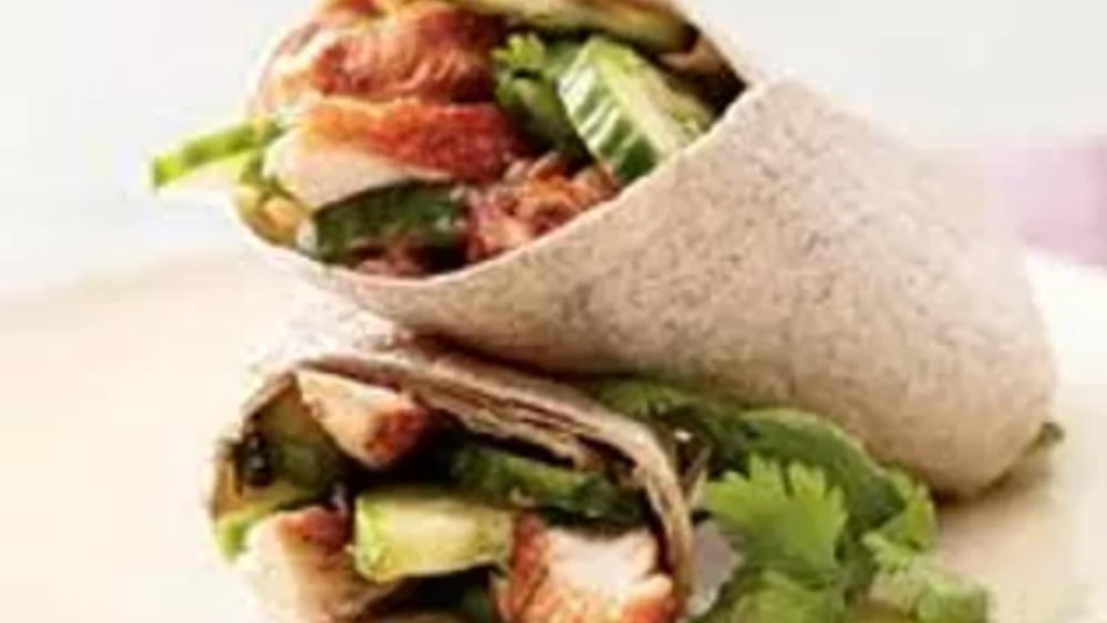 Image of Whole Wheat Chicken Wrap