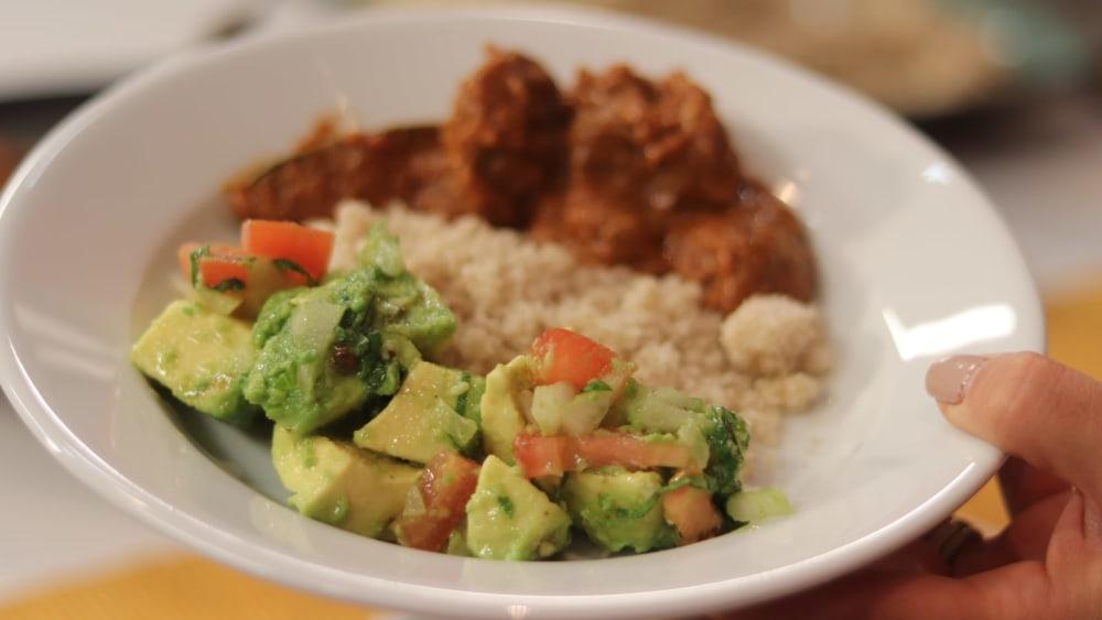 Image of Fonio Avocado Salad