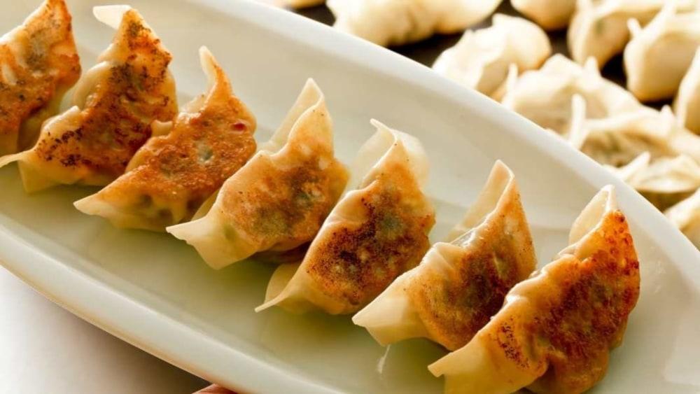 Image of Machika Easy Pork Dumplings Recipe