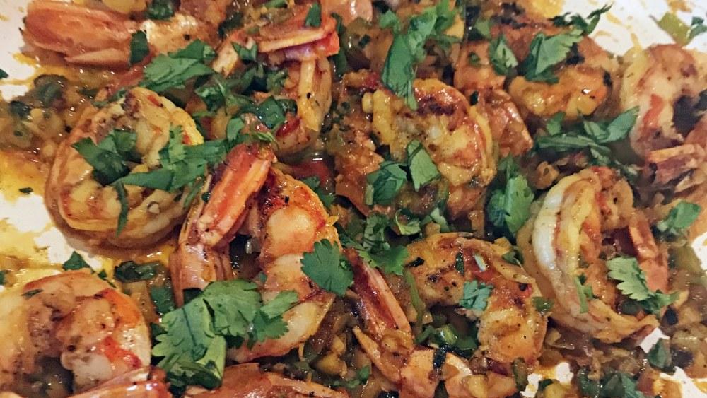 Image ofGarlic and Chile Shrimp