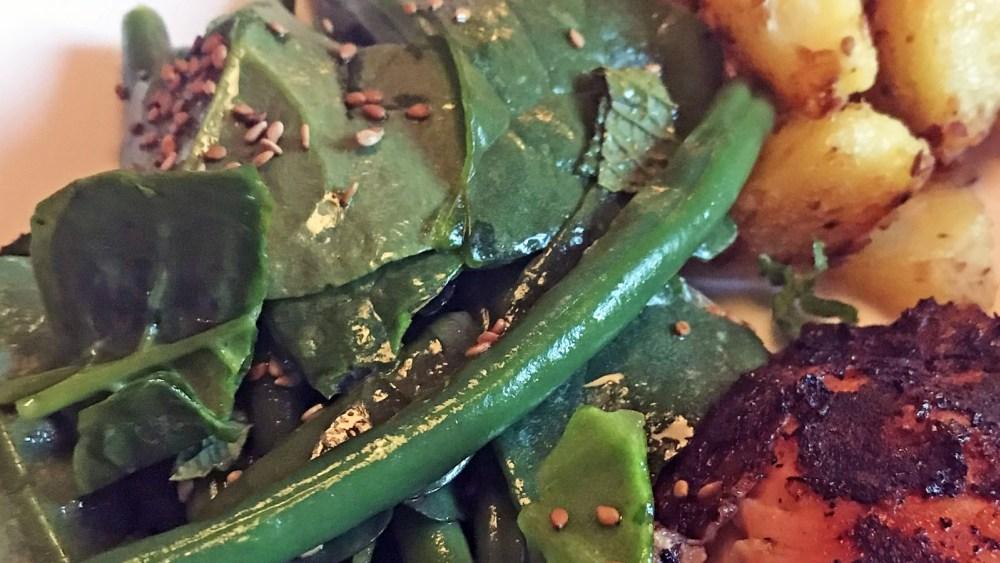 Image ofGreen Bean Salad with Coriander Oil