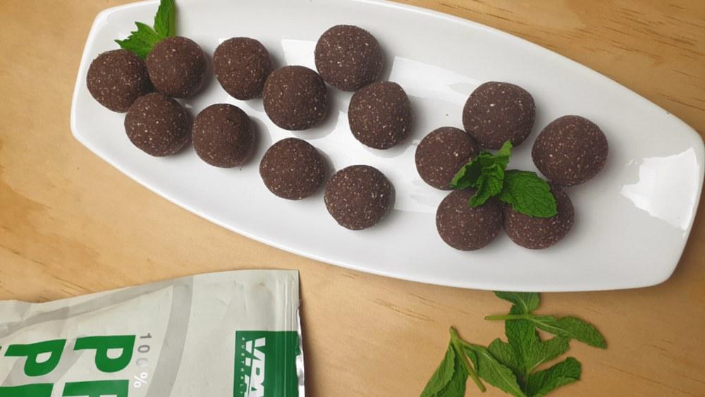 Image ofVegan Mint Protein Balls