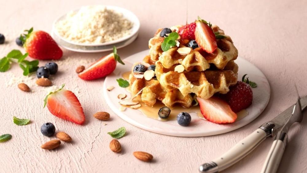 Image of Almond Flour Waffles