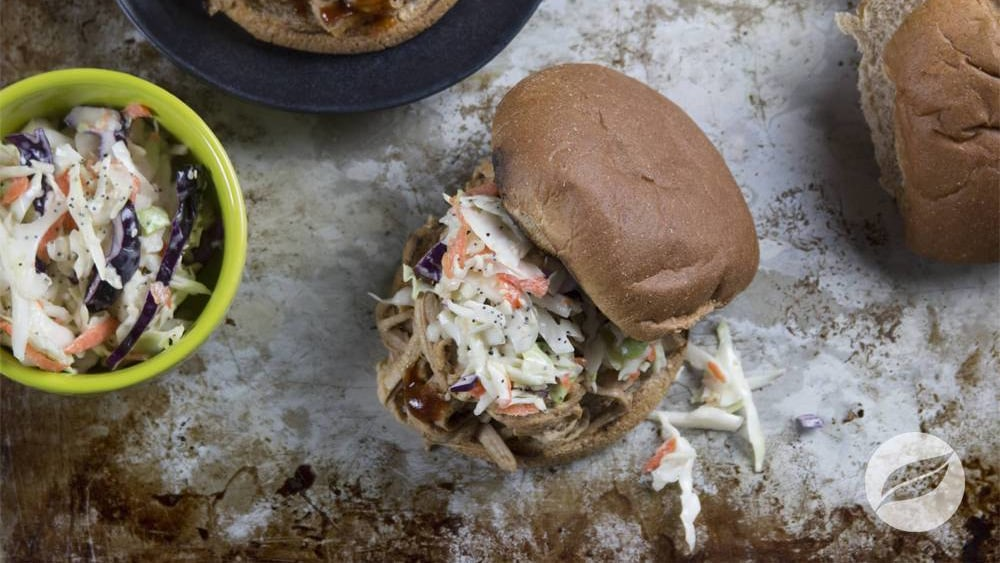 Image of Agave BBQ Pulled Pork Sandwiches
