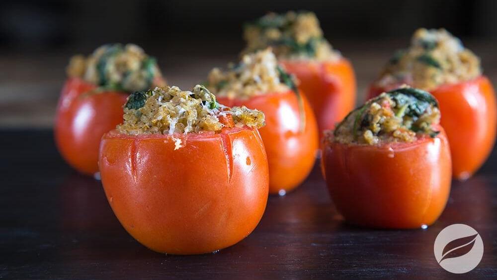 Image of Baked Stuffed Tomatoes