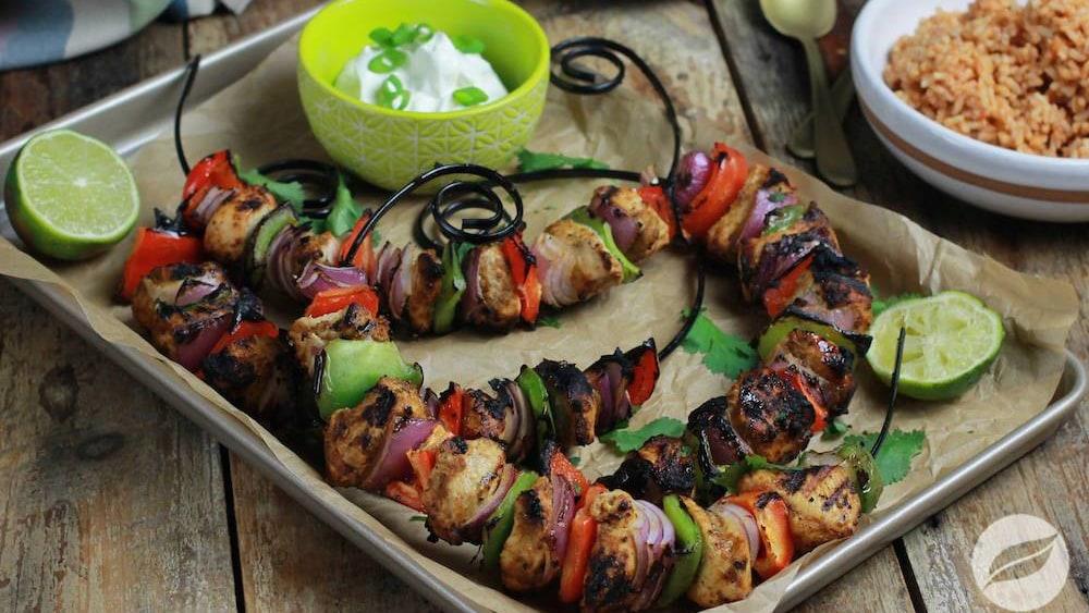 Image of Chicken Fajita Kabobs