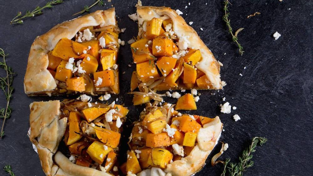 Image of Roasted Butternut Squash Galette