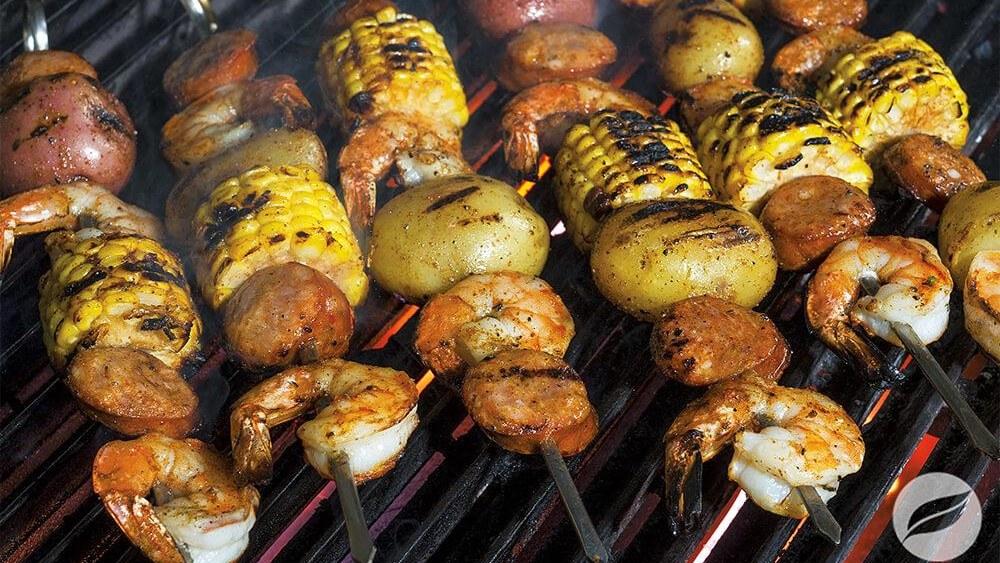 Image of Shrimp Boil Skewers