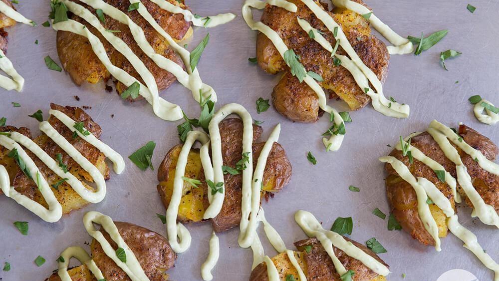 Image of Crispy Smashed Potatoes