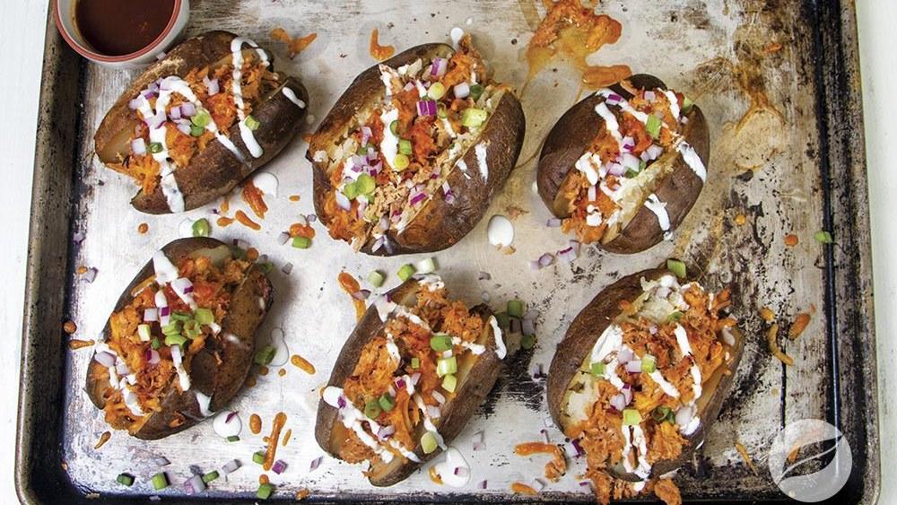 Image of BBQ Pulled Pork Stuffed Potatoes