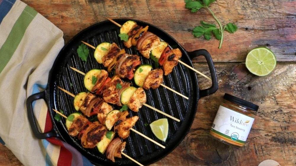 Image of Taco Chicken Skewers