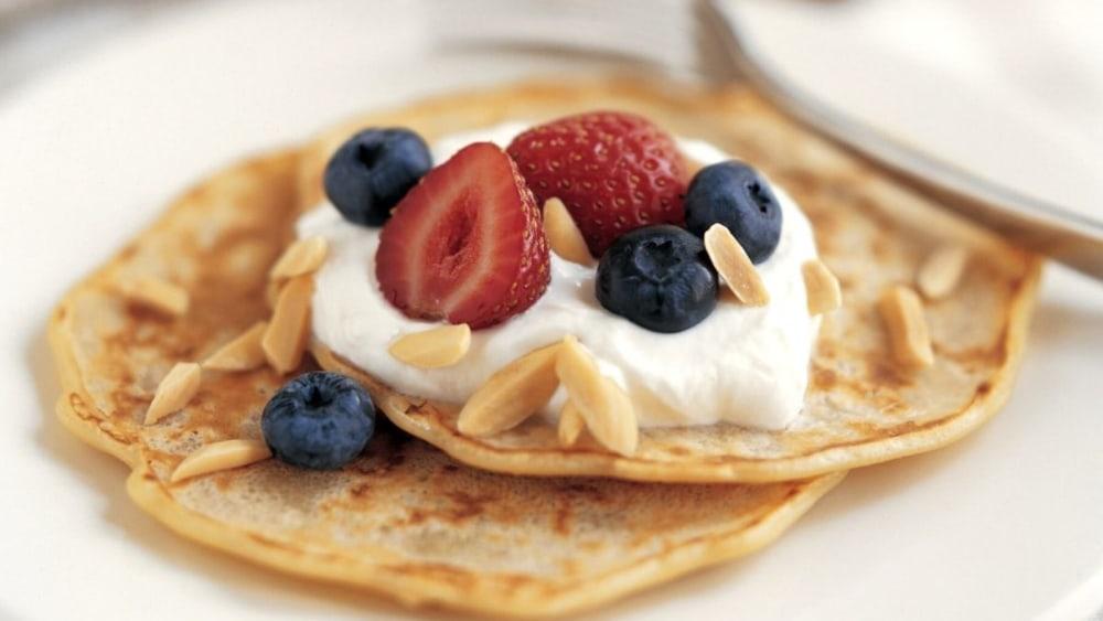 Image of Oatmeal Almond Pancakes