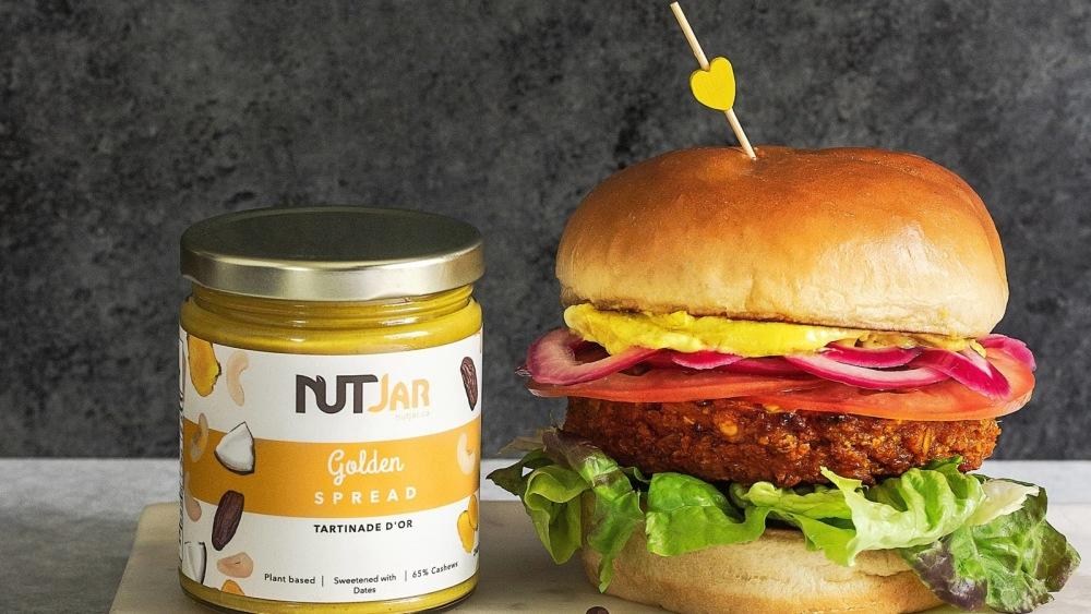 Image of Golden Veggie Burgers