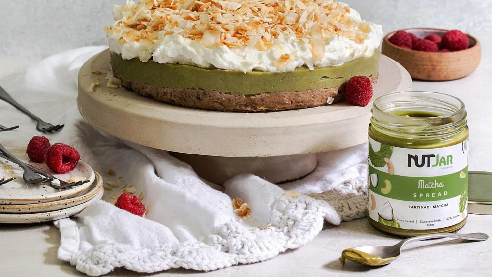 Image of Vegan Matcha Cheesecake