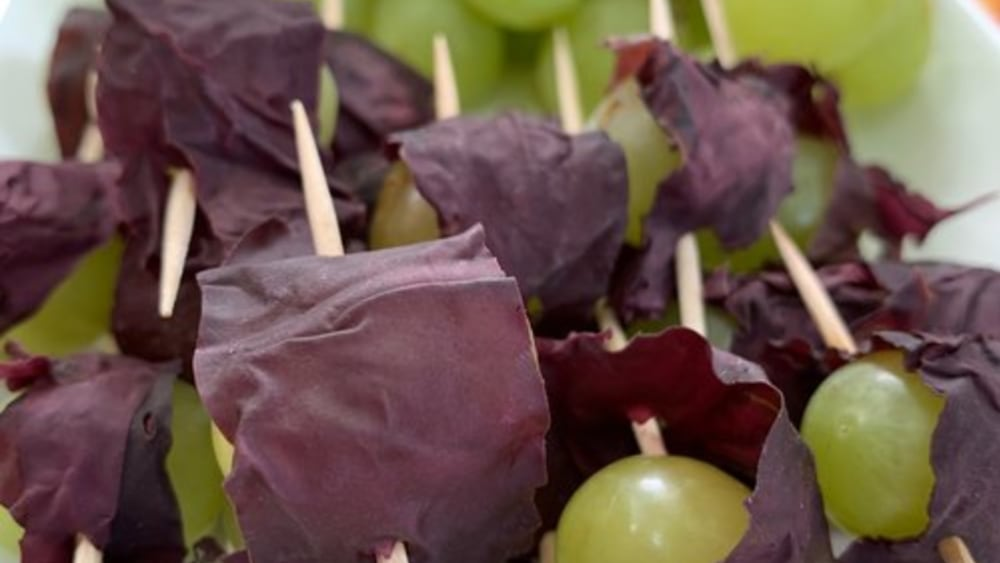 Image of Dulse-wrapped Grapes
