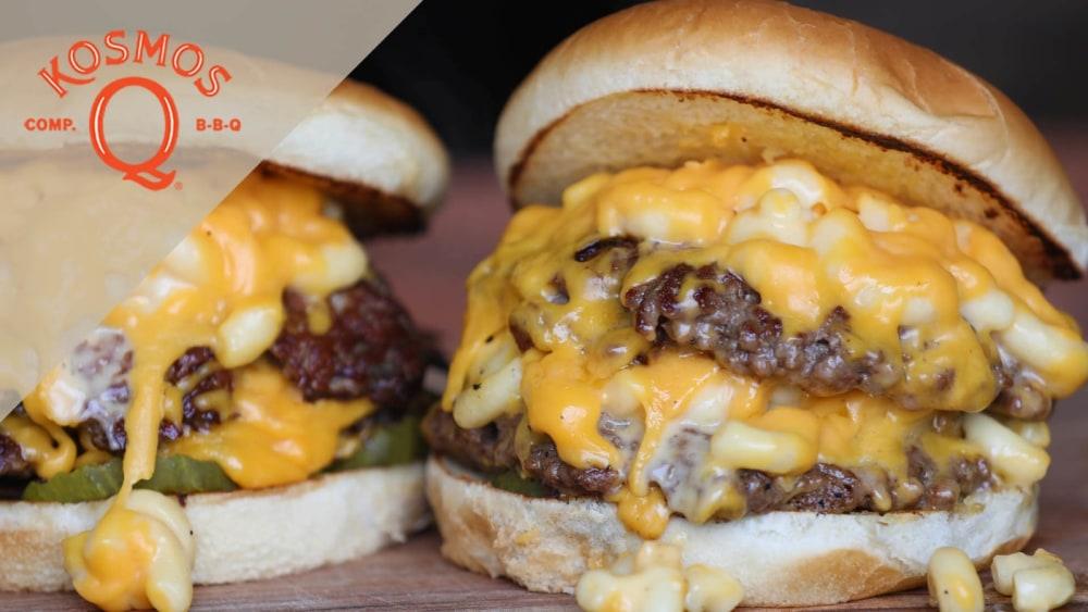 Image of Mac and Cheese Smashburger Recipe