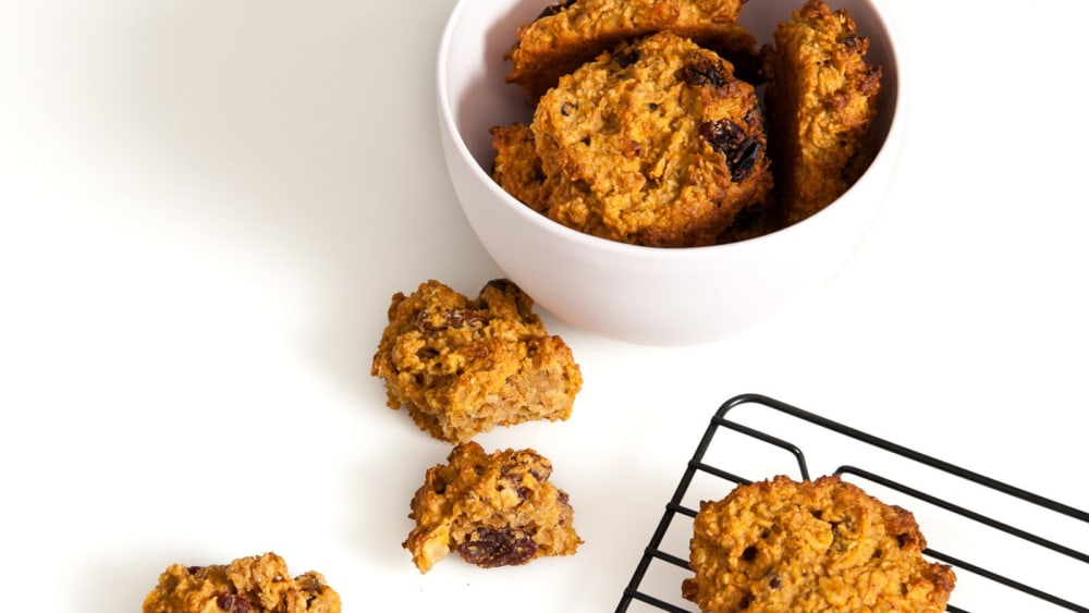 Image of Spiced Pumpkin & Sultana Cookies