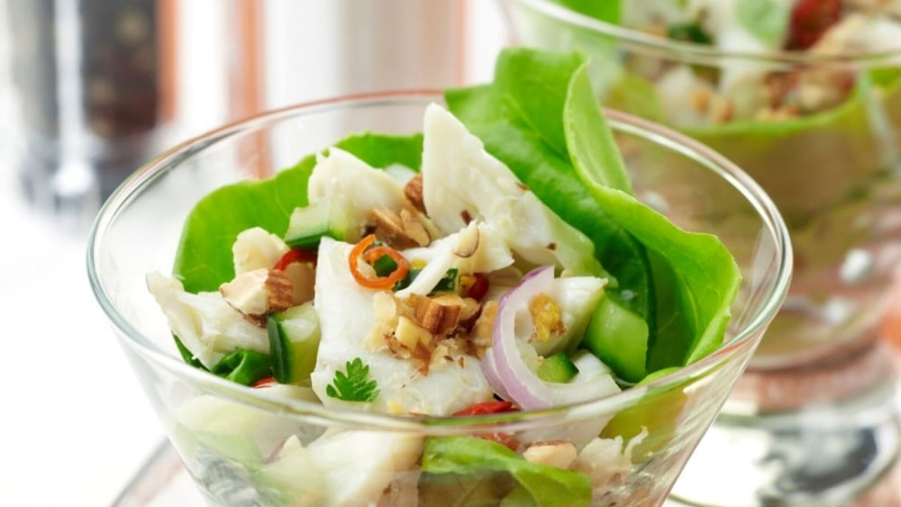 Image of Southeast Asia Crab and Almond Salad