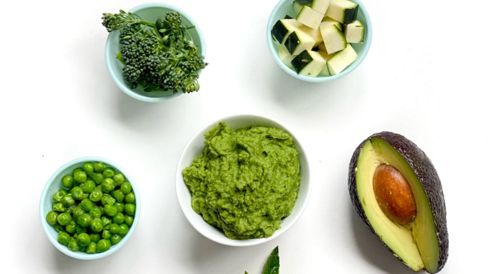 Image of Green Vegetable Puree