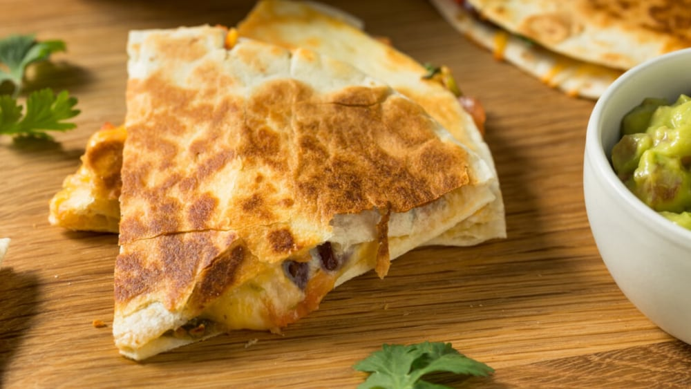 Image of Air Fryer Quesadillas - Hot & Ready in Less Than 10 Minutes