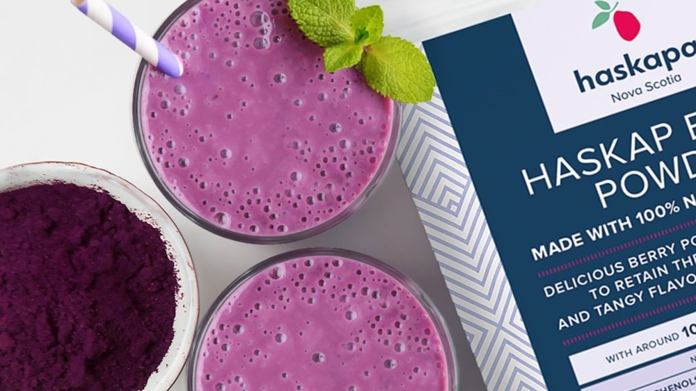 Image of HASKAPA HEALTHY MORNING SMOOTHIE - RICH IN ANTHOCYANINS