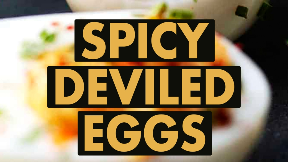 Image ofSpicy Deviled Eggs
