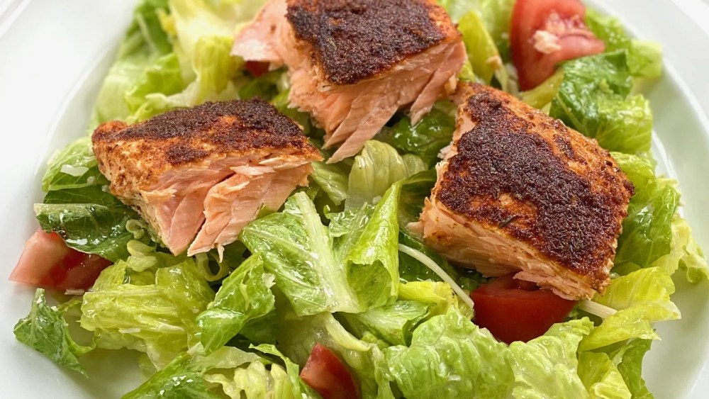Image of Blackened Salmon Caesar Salad