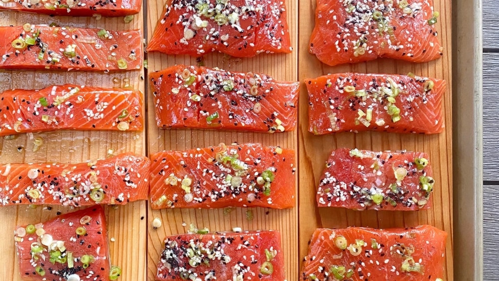 Image of Premier Catch Cedar Plank Salmon