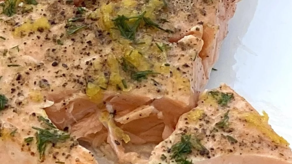Image of Pan-Seared Salmon with Lemon, Butter & Dill
