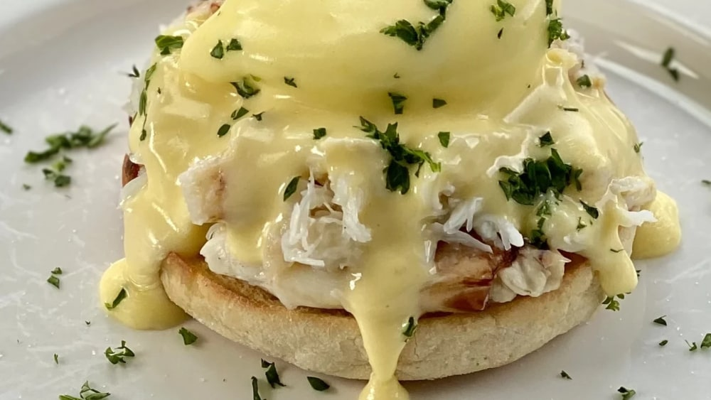 Image of Cousin Kelly's Dungeness Crab Benedict