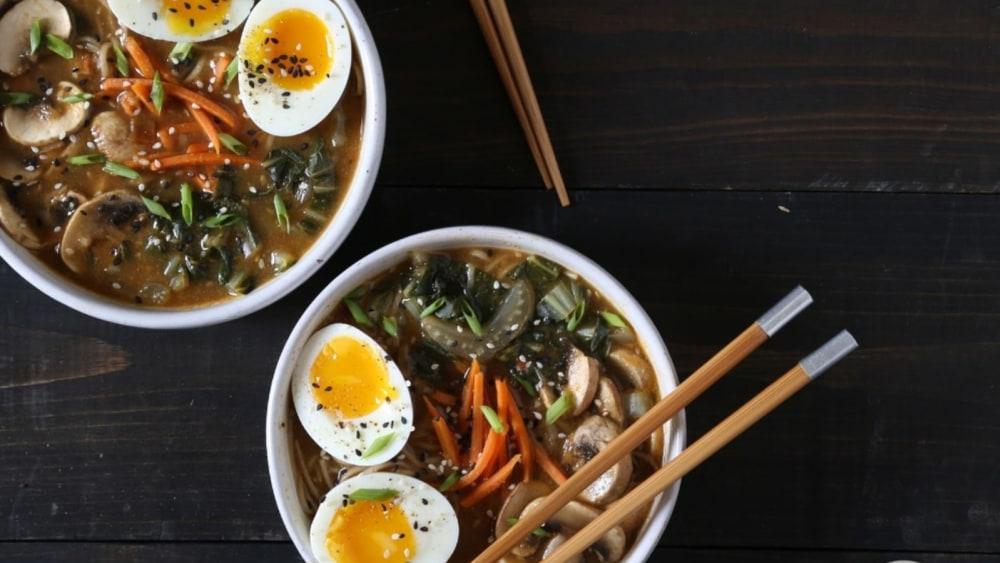 Image of Quick Soba Noodle Soup