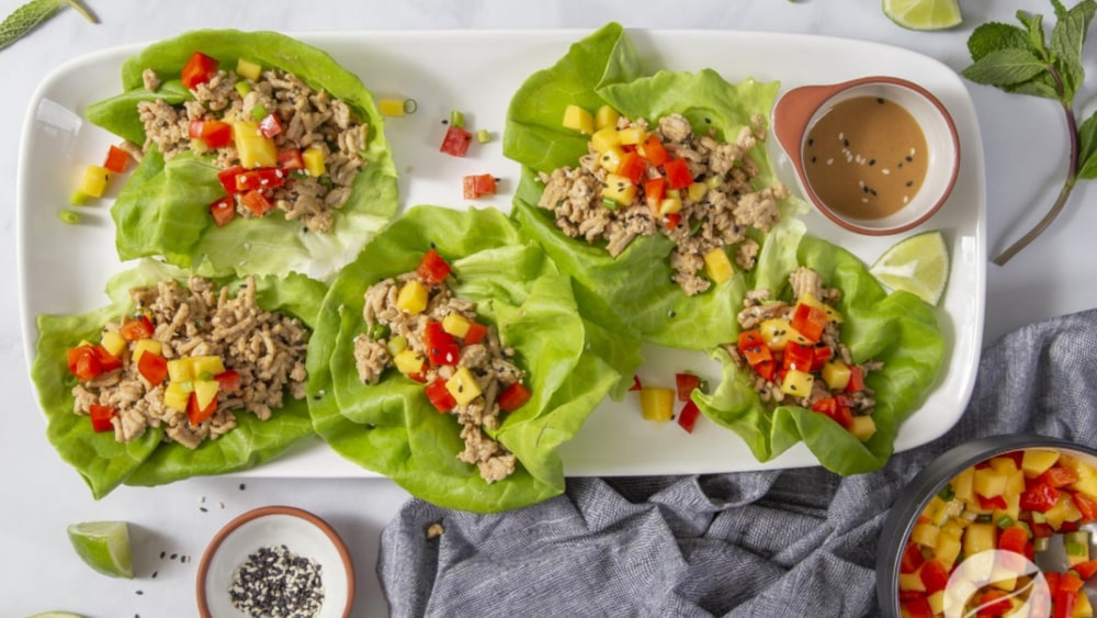 Image of Thai Chicken Lettuce Cups