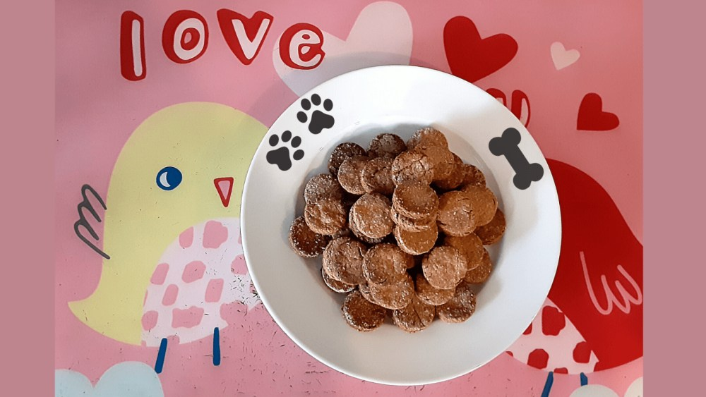 Image of The Best Homemade Peanut Butter Dog Treats