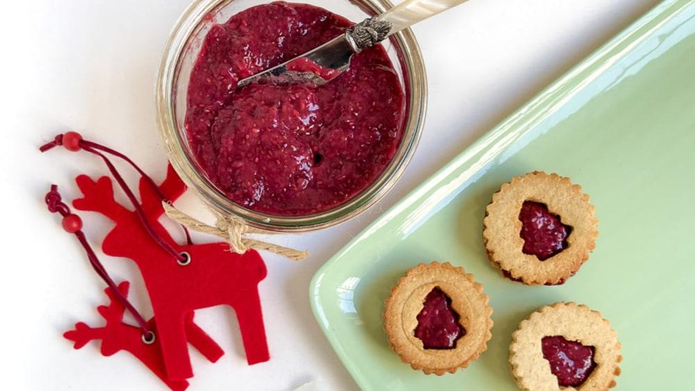 Image of Linzer Cookies