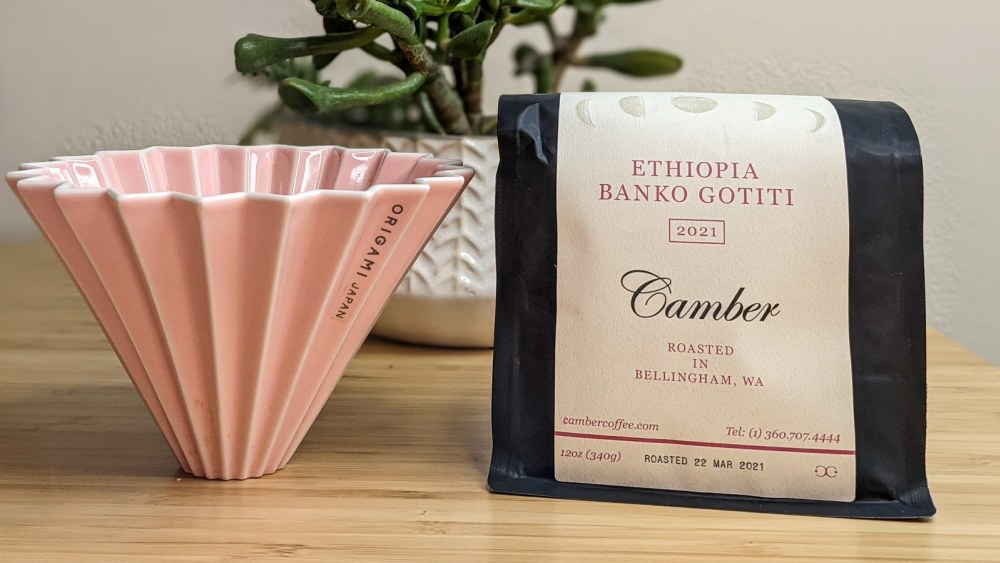 Image of Brewing Ethiopian Bank Gotiti by Camber Coffee with Meghan-Annette
