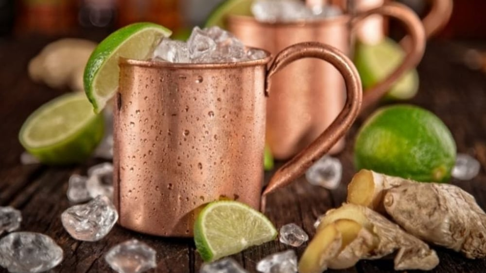Image of Whiskey Ginger Mule