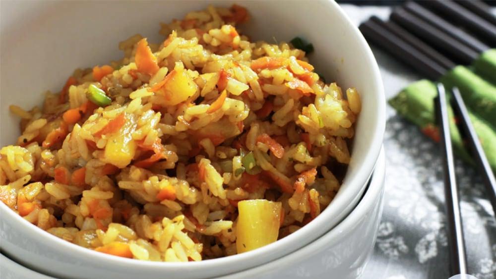 Image of Teriyaki Pineapple Fried Rice