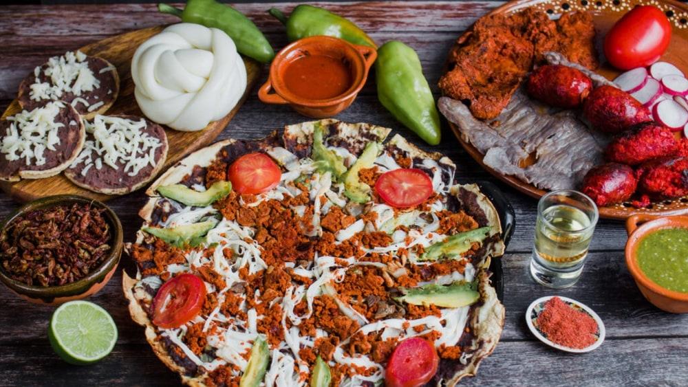 Image of Tlayuda Recipe: Oaxaca's Famous Open-Faced Pizza Tacos!