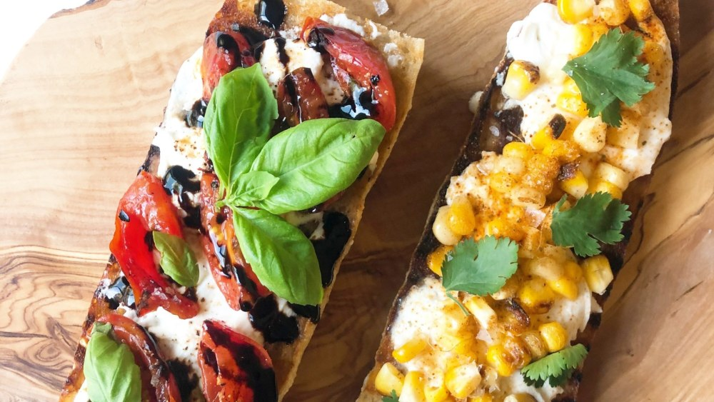 Image of Burrata Crostini, Two Ways