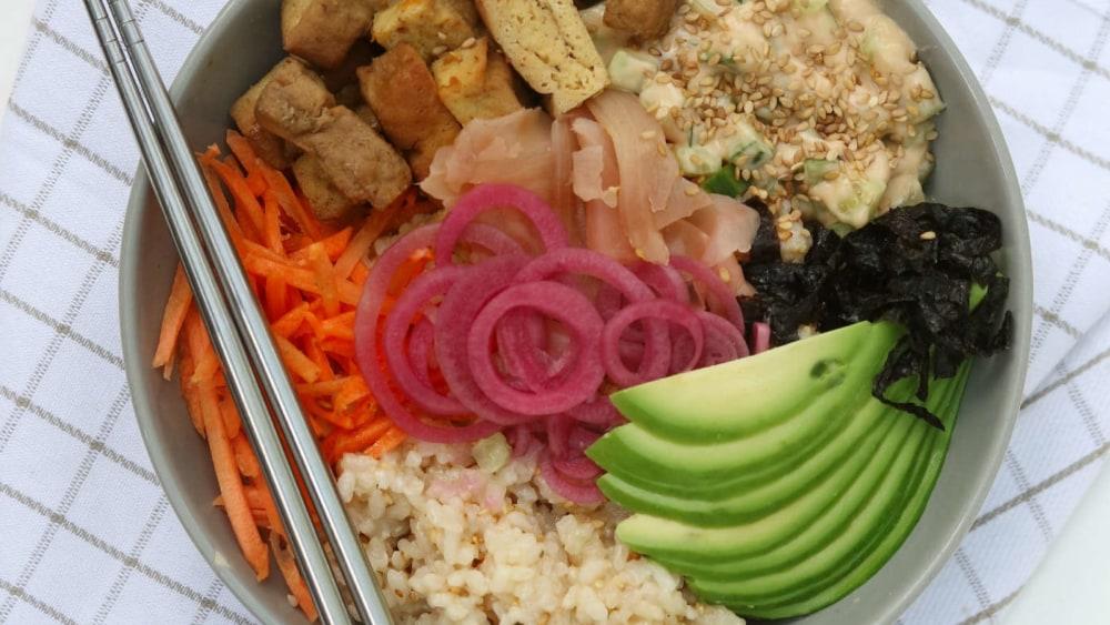 Image of Vegan Sushi Bowl