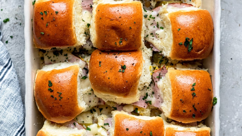 Image of Ham, Cheddar & Dill Pickle Sliders