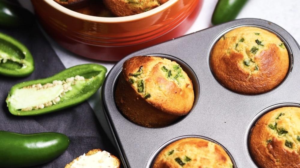 Image of Jalapeño Cornbread Muffins