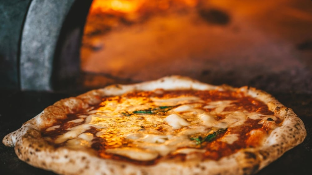 Image of Neapolitan-inspired Italian Pizza With a Gourmet Twist