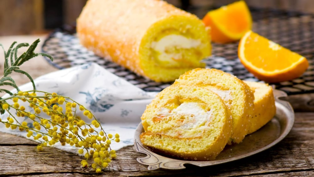 Image of Sicilian-style Ricotta Roll Cake