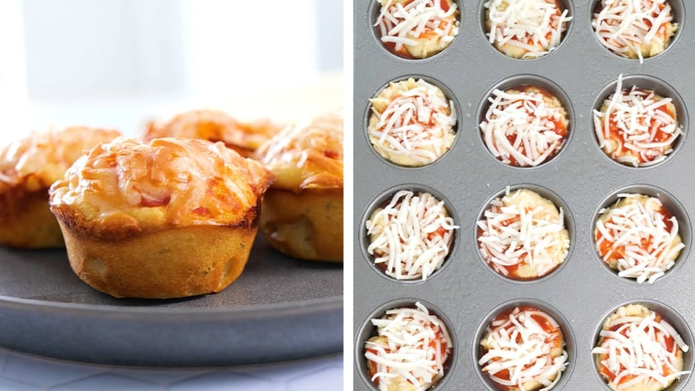 Image of High Protein Pizza Muffins