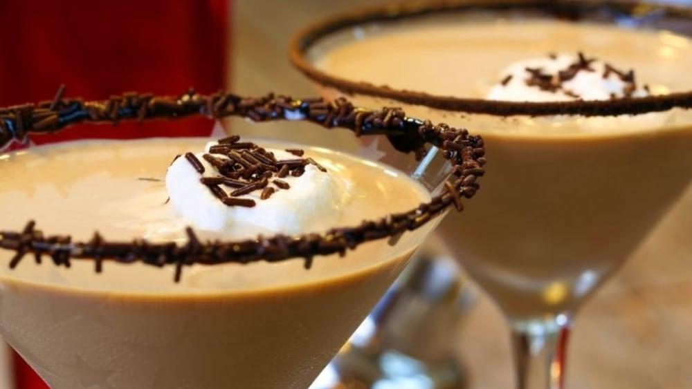 Image of Dark Chocolate Malted Martini