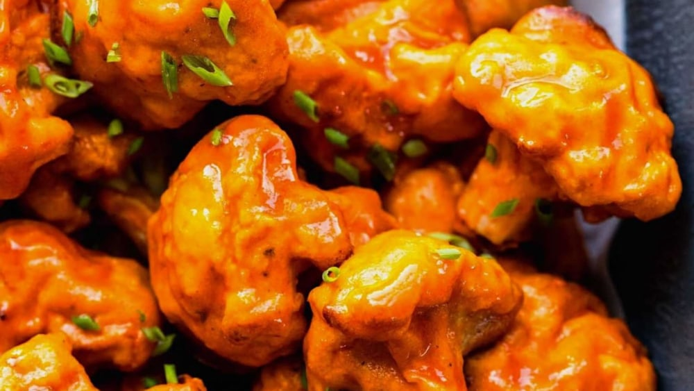 Image ofCauliflower Wings with Blue Cheese Sauce Recipe | Elijah's Xtreme