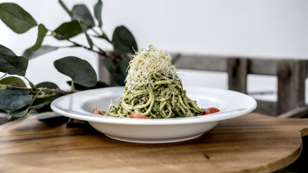 Image of Our Infamous Pesto Zoodles